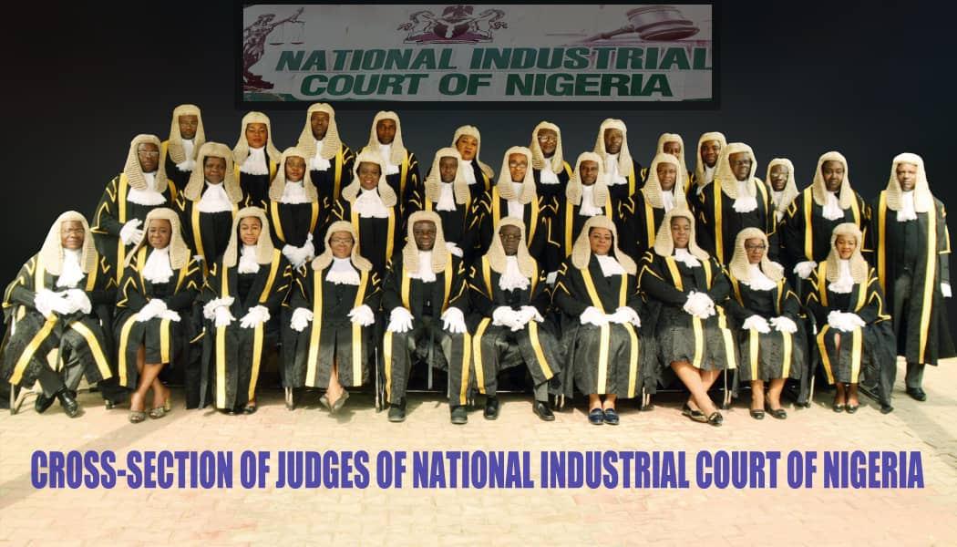 CROSS-SECTION OF JUDGES OF NATIONAL INDUSTRIAL COURT OF NIGERIA